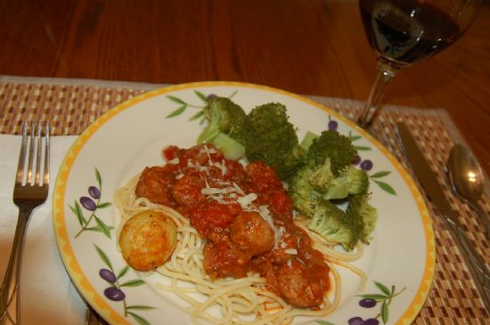 Image of Makeover: Spaghetti Sauce (by Subsmith), Spark Recipes