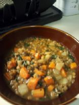 ashley's lentil soup 