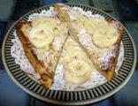 Macadamia Banana French toast