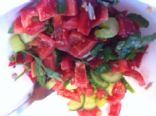 Salad (red papper)