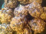 Oatmeal chocolate walnut cookie