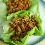 Asian Lettuce Cups with Spicy Ground Turkey
