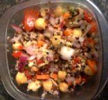 Chickpea and Salmon Salad
