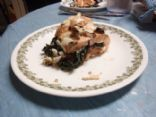 Swiss Chard Stuffed Salmon