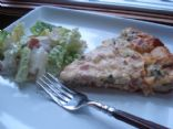 Crustless Quiche part 2(Peameal Bacon, Broccoli & cheese)