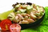 Avocado with Shrimps (Mama Roma)