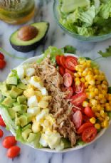 Pulled Pork Cobb Salad
