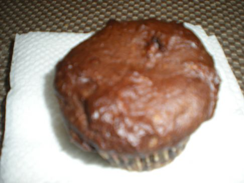 Chocolate , Peanut & Banana Protein Muffin (1= 230calories & 10protein)