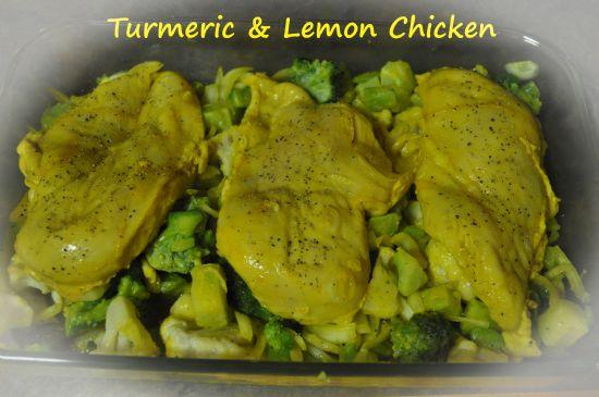 Turmeric and Lemon Chicken