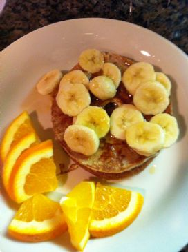 Banana French Toast, Clean Eating