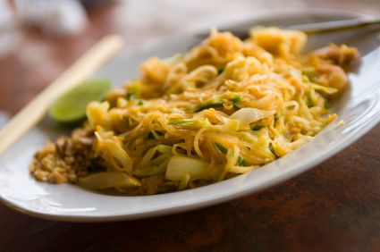 Thai Cabbage Noodles