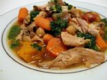 Moroccan Turkey Stew