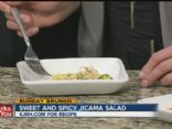 Sweet and Spicy Jicama Salad
