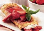 Strawberry  Spinash Omellet