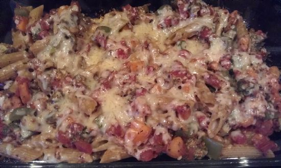 Baked Ziti with Vegetables