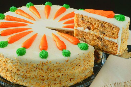 Cinnamon Carrot Cake