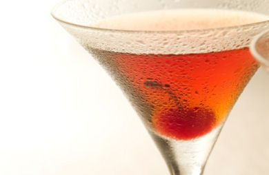 Spiced Raspberry Cocktail
