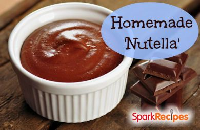 Easy Homemade Nutella (Chocolate Nut Butter)