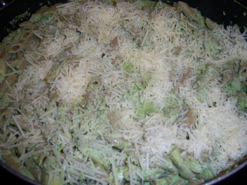 Spinach Artichoke Penne