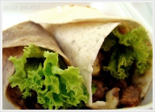 Hamburger Wraps