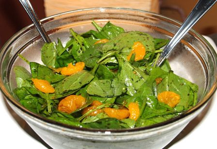 Sunshine Spinach Salad