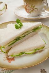 Tea Party Cucumber Sandwiches