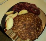 Egg oatmeal Pancake