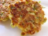 Healthy Savory Corn Fritters