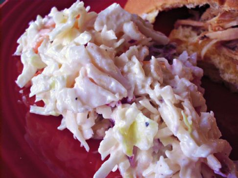 Healthier KFC Coleslaw