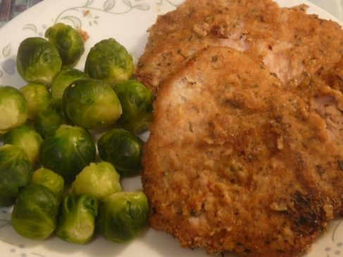 Ww Oven-Fried Pork Chops 5-Points