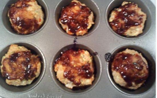 Wendle's Turkey & Vegetable Muffins