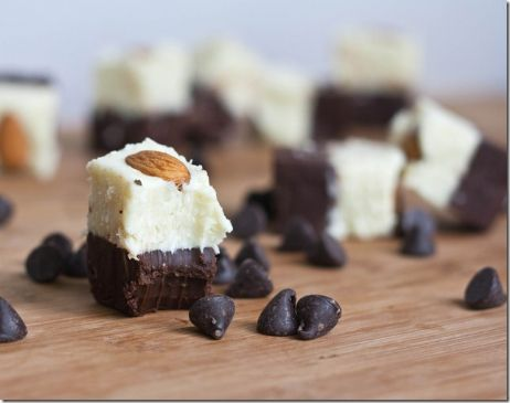 Almond Joy Fudge (Paleo, gluten free, sugar free, low carb)