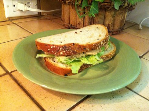 Healthy Tuna Salad Sandwich(No Mayo)