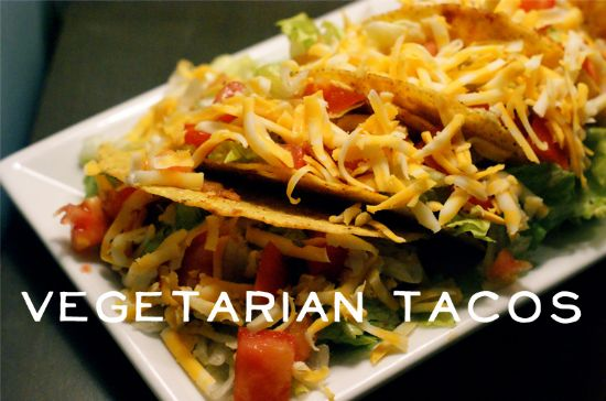 Vegetarian Tacos Recipe | SparkRecipes