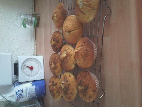 Small Chocolate Chip Muffins