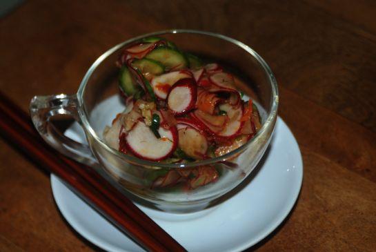 Eastern Inspired Western Radish Salad