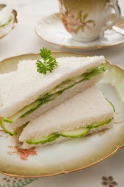Tea Party Cucumber Sandwiches