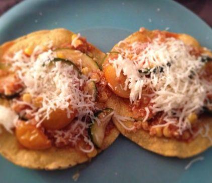 Zuchinni & Quinoa Tostadas