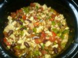 Easy, healthy crockpot chili