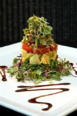 Ahi Tuna and Avacado Timbale