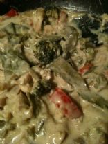 Chicken and Vegetable Green Curry