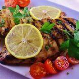 Grilled Chicken w/ Lemon & Oregano