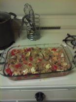 Roasted Tomato, Mushroom, and Cauliflower Quinoa