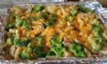Cheesy Chicken and Broccoli Rotini Bake