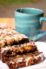 Peggy�s Famous Coconut Chocolate Chip Banana Bread with Glaze Gone Gluten Free