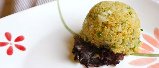 Quinoa Side Dish Recipe | SparkRecipes