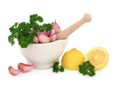 Tangy Garlic-Citrus Parsley Sauce