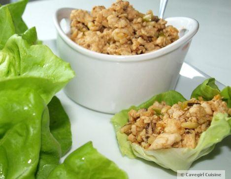 Paleo Turkey Lettuce Wraps