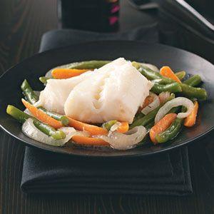Cod & Vegetable Skillet