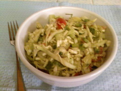 Kicked Up Guacamole Coleslaw